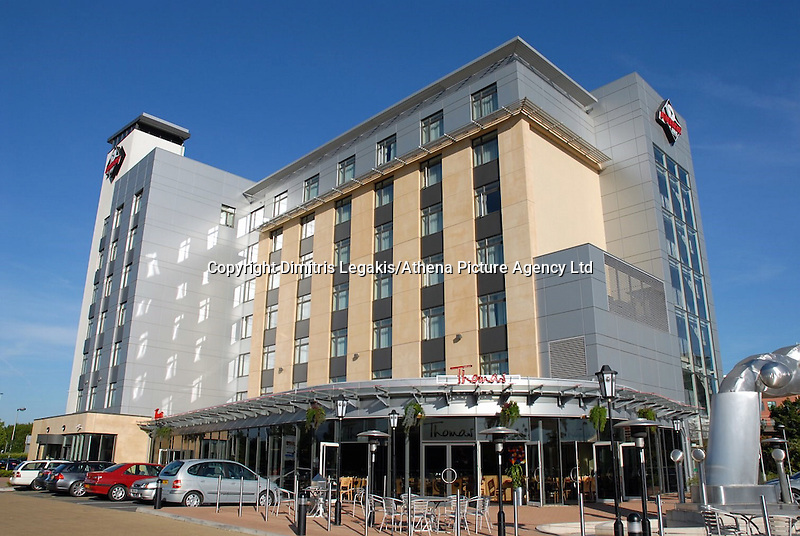 "Pictured: Future Inn Hotel, Cardiff.<br /> Re: A man has pleaded guilty of murdering a woman in a Cardiff hotel room has been found by police.<br /> Sammy Almahri from New York, went on the run following the discovery of Nadine Aburas's body at the Future Inn, Cardiff Bay, on 31 December 2014.<br /> An international search was launched to find Mr Almahri.<br /> He was arrested by Tanzanian Police.<br /> Nadine's family has issued the following statement:  ""Justice has been done for Nadine. The right verdict has been returned. We wish to thank everyone who has assisted us throughout this tragic period in our lives.<br /> ""We ask now that we are given time to grieve and remember our beautiful girl. We will give a full statement after sentence."""