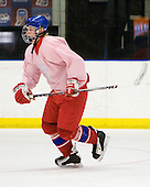 Daniel Krejci  (Czech Republic - 8) - Team Czech Republic practiced at the Urban Plains Center in Fargo, North Dakota, on Saturday, April 18, 2009 in the morning prior to their final match against Sweden during the 2009 World Under 18 Championship.