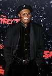 "HOLLYWOOD, CA. - December 17: Actor Samuel L. Jackson arrives at the Los Angeles premiere of ""The Spirit"" at the Grauman's Chinese Theater on December 17, 2008 in Hollywood, California."