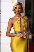 London, UK. 8 May 2016. Pictured: Alesha Dixon. Red carpet arrivals for the House Of Fraser British Academy Television Awards at the Royal Festival Hall.