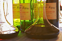 Bottles and carafes decanters with Chateau La Grave Figeac - Chateau La Grave Figeac, Saint Emilion, Bordeaux
