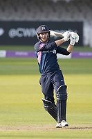 James Harris of Middlesex CCC pulls a short delivery to the square boundary during Middlesex vs Lancashire, Royal London One-Day Cup Cricket at Lord's Cricket Ground on 10th May 2019