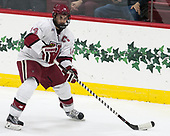 Alexander Kerfoot (Harvard - 14) - The Harvard University Crimson tied the visiting Yale University Bulldogs 1-1 on Saturday, January 21, 2017, at the Bright-Landry Hockey Center in Boston, Massachusetts.