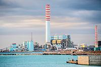 Impianti siderrurgici Ilva di Taranto Italia