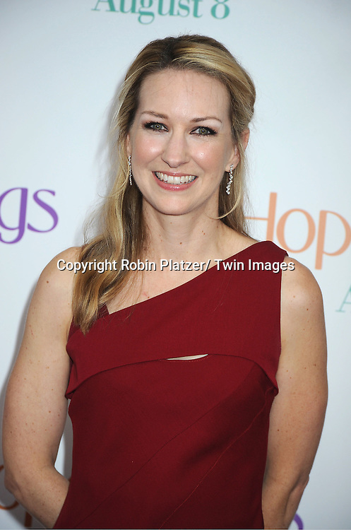 """screenwriter Vanessa Taylor attends the World Premiere of """"Hope Springs"""" on August 6, 2012 at The SVA Theatre in New York City. The movie stars Meryl Streep, Tommy Lee Jones and Steve Carrell."""
