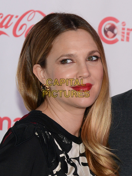 LAS VEGAS, NV - March 27: Female Star of the Year Award winner Drew Barrymore at the CinemaCon Big Screen Achievement Awards on March 27, 2014 in Las Vegas, Nevada.<br /> CAP/MPI/RTNKAB<br /> &copy;RTNKAB/MPI/Capital Pictures