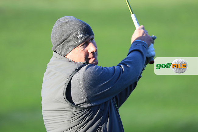 Gerry McManus(A) during the first round of the AT&T Pro-Am, Pebble Beach Golf Links, Monterey, California, USA. 07/02/2019<br /> Picture: Golffile | Phil Inglis<br /> <br /> <br /> All photo usage must carry mandatory copyright credit (© Golffile | Phil Inglis)