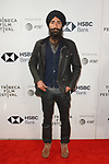 Actor Waris Ahluwalia arrives at the U.S. premiere of the movie Disobedience, on April 22 2018, during the Tribeca Film Festival in New York City.