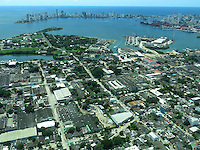 CARTAGENA- COLOMBIA. Panorámica de Cartagena de Indias. / Cartagena de Indias panorama. Photo: VizzorImage/ Staff