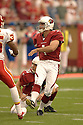 NEIL RACKERS, of the Arizona Cardinals, in action against the Kansas CIty Chiefs on October 8, 2006 in Phoenix, AZ...Chiefs win 23-20..David Durochik / SportPics.