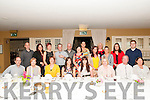 Special Birthday : Aisling Griffin, Listowel, fourth from left front, celebrating a special birthday with her family & friends at the Listowel Arms Hotel on Saturday night last.