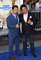 Michael Pena &amp; Erik Estrada at the premiere for &quot;CHiPS&quot; at the TCL Chinese Theatre, Hollywood. Los Angeles, USA 20 March  2017<br /> Picture: Paul Smith/Featureflash/SilverHub 0208 004 5359 sales@silverhubmedia.com