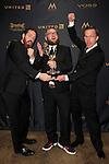 LOS ANGELES - APR 29: Daniel de Graaf, Adam Lupsha,Mike Houston at The 43rd Daytime Creative Arts Emmy Awards Gala at the Westin Bonaventure Hotel on April 29, 2016 in Los Angeles, California