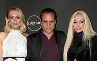 WEST HOLLYWOOD, CA - JANUARY 9: Chelsea Frei, Maurice Benard, Victoria Gotti, at the Lifetime Winter Movies Mixer at Studio 4 at The Andaz Hotel in West Hollywood, California on January 9, 2019. Credit:Faye Sadou/MediaPunch