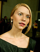 Claire Danes responds to a reporter's question as she arrives for the eighth annual Mark Twain Prize for American Humor, which is being awarded this year to Steve Martin at the John F. Kennedy Center for the Performing Arts in Washington, D.C. on October 23, 2005.Credit: Ron Sachs / CNP