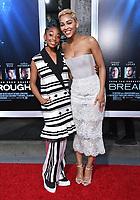 "11 April 2019 - Westwood, California - Eris Baker, Meagan Good. ""Breakthrough"" Los Angeles Premiere held at Regency Village Theater. Photo Credit: Birdie Thompson/AdMedia"