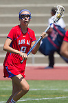 Torrance, CA 05/11/13 - Courteney Damore (Los Alamitos #9) during the 2013 Los Angeles/Orange County Championship game between Los Alamitos and Agoura.  Los Alamitos defeated Agoura 19-4.