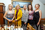 Mags Sugrue, Tina O'Connor, Lucia Murphy, Andrea Moriarty and Kelly Houlihan enjoying the night out in Bella Bia on Saturday night.