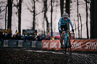 defending World Champion Sanne Cant (BEL/Iko-Beobank)<br /> <br /> Women Elite Race<br /> UCI CX Worlds 2018<br /> Valkenburg - The Netherlands