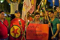 Kurdi a Roma, Kobane non è sola