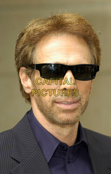"""JERRY BRUCKHEIMER.Press Junket for """"Pirates Of The Caribbean: Dead Man's Chest"""" at The Dorchester, London, UK..July 5th, 2006.Ref: IA.headshot portrait shades sunglasses stubble facial hair.www.capitalpictures.com.sales@capitalpictures.com.©Capital Pictures"""