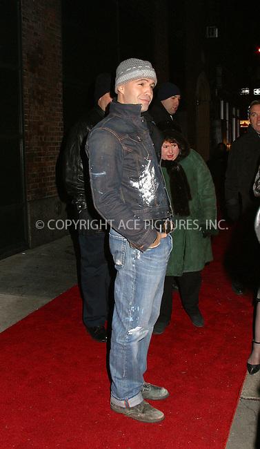"""Billy Zane at the opening after-party of """"La Boheme"""" on Broadway. New York, December 8, 2002. Please byline: Alecsey Boldeskul/NY Photo Press.   ..*PAY-PER-USE*      ....NY Photo Press:  ..phone (646) 267-6913;   ..e-mail: info@nyphotopress.com"""