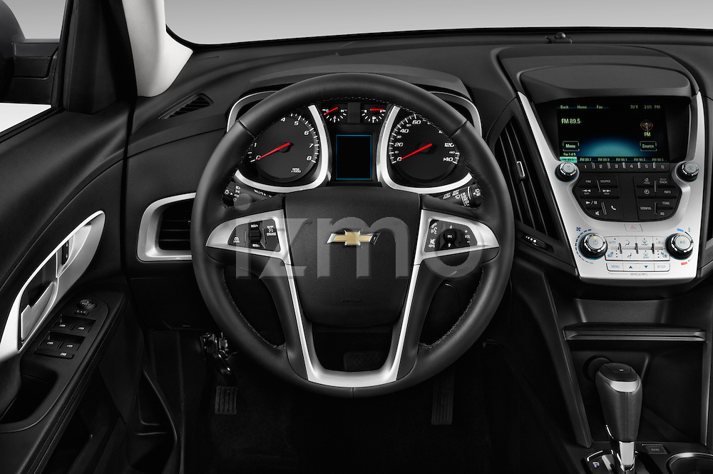 Car pictures of steering wheel view of a 2016 Chevrolet Equinox LT 5 Door Suv Steering Wheel