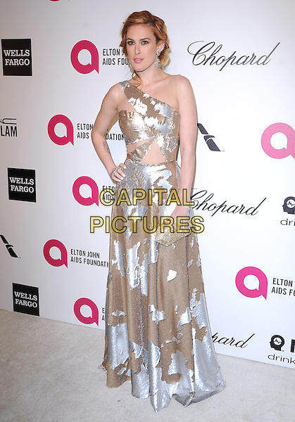 Rumer Willis attends the 2014 Elton John AIDS Foundation Academy Awards Viewing Party in West Hollyood, California on March 02,2014                                                                               <br /> CAP/DVS<br /> &copy;DVS/Capital Pictures