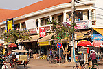 Shops on Sivatha Boulevard, Siem Reap, Cambodia