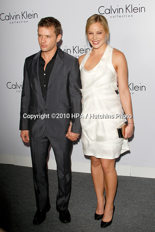 Ryan Phillippe and Abbie Cornish.arriving at the Calvin Klein collection and LOS ANGELES NOMADIC DIVISION Present a Celebration of L.A. ARTS MONTH.Calvin Klein Store.Los Angeles, CA.January 28, 2010.©2010 HPA / Hutchins Photo....