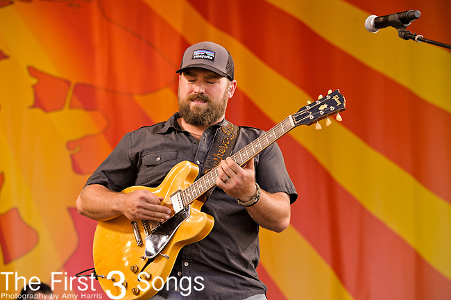 Zac Brown of the Zac Brown Band performs during the New Orleans Jazz & Heritage Festival in New Orleans, LA on May 4, 2012.