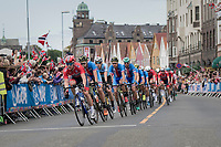 racing in Bergen city center<br /> <br /> Men Elite Road Race<br /> <br /> UCI 2017 Road World Championships - Bergen/Norway
