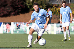 14 November 2010: UNC's Enzo Martinez. The University of Maryland Terrapins defeated the University of North Carolina Tar Heels 1-0 at WakeMed Soccer Park in Cary, North Carolina in the ACC Men's Soccer Tournament Championship game.