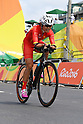 Jianping Ruan (CHN), <br /> SEPTEMBER 17, 2016 - Cycling - Road : <br /> Women's Road Race C4-5 <br /> at Pontal <br /> during the Rio 2016 Paralympic Games in Rio de Janeiro, Brazil.<br /> (Photo by AFLO SPORT)