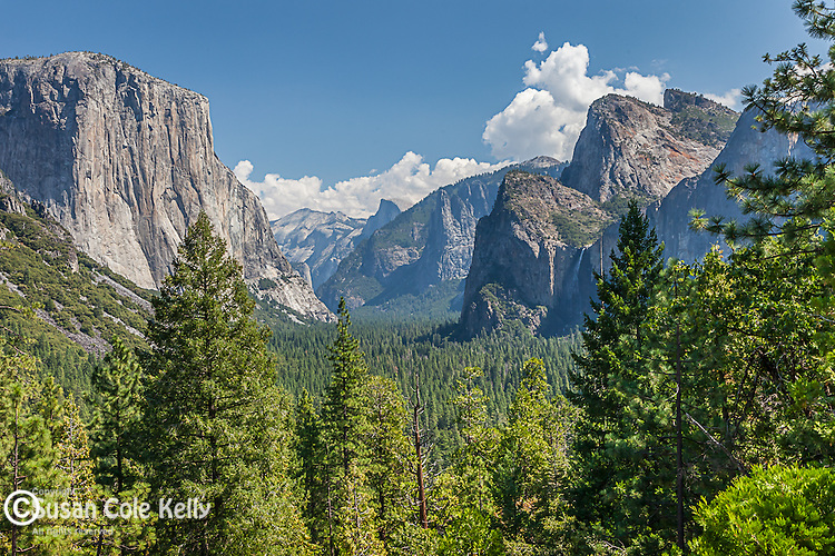 Yosemite Valley from Tunnel View, Yosemite National Park, CA, USA