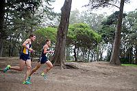 SAN FRANCISCO, CA., September 3, 2016,—Cal Men's Cross Country at the San Francisco Invitational at Golden Gate Park .
