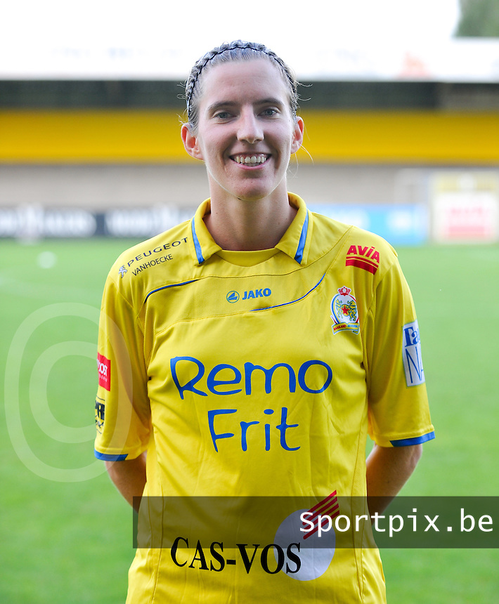 Waasland Beveren Sinaai Girls : Nathalie Vanderstappen.foto Vrouwenteam.be / David Catry