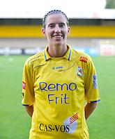 Waasland Beveren Sinaai Girls : Nathalie Vanderstappen.foto Vrouwenteam.be / David Catry