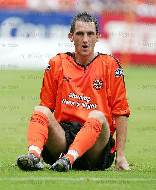 Mark Kerr, Dundee Utd.stock season 2004-2005.pic willie vass