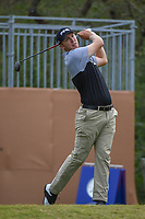 Seamus Power (IRL) watches his tee shot on 1 during Round 2 of the Valero Texas Open, AT&amp;T Oaks Course, TPC San Antonio, San Antonio, Texas, USA. 4/20/2018.<br /> Picture: Golffile   Ken Murray<br /> <br /> <br /> All photo usage must carry mandatory copyright credit (&copy; Golffile   Ken Murray)