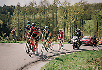 breakaway group<br /> <br /> 104th Li&egrave;ge - Bastogne - Li&egrave;ge 2018 (1.UWT)<br /> 1 Day Race: Li&egrave;ge - Ans (258km)
