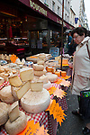 Paris, France Cheese shop in Paris, France