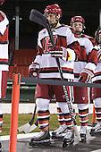 Eric Kroshus (Harvard - 10), Max Everson (Harvard - 44) - The Union College Dutchmen defeated the Harvard University Crimson 2-0 on Friday, January 13, 2011, at Fenway Park in Boston, Massachusetts.