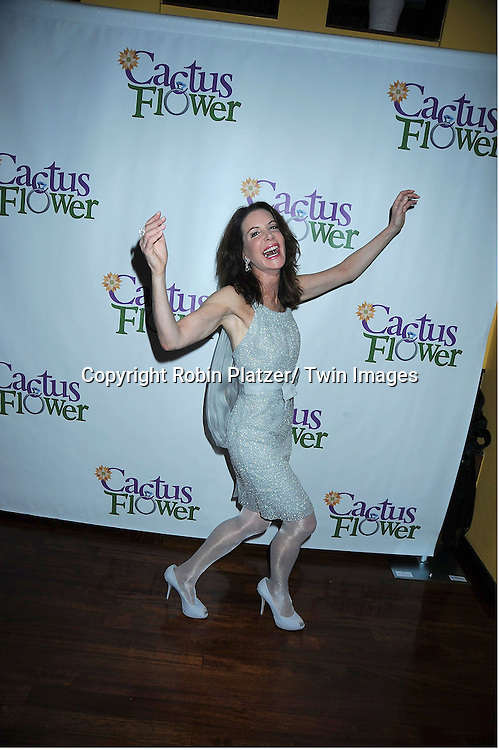 "Lois Robbins attending the Opening night party for .""Cactus Flower"" on March 10, 2011 at B Smith's Restaurant. The show stars Lois Robbins, Maxwell Caulfield and Jenni Barber."