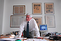 The Times-Picayune editor Jim Amoss in New Orleans, Wednesday, April 5, 2006..(Cheryl Gerber for New York Times)..
