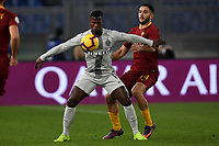 Keita Balde of Internazionale and Kostas Manolas of AS Roma compete for the ball during the Serie A 2018/2019 football match between AS Roma and FC Internazionale at stadio Olimpico, Roma, December, 2, 2018 <br />  Foto Andrea Staccioli / Insidefoto