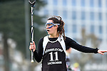 Frankfurt am Main, Germany, March 14: During the Damen 1. Bundesliga West Lacrosse match between SC 1880 Frankfurt and Duesseldorfer Hirschkuehe on March 14, 2015 at the SC 1880 Frankfurt in Frankfurt am Main, Germany. Final score 20-13 (13-8). (Photo by Dirk Markgraf / www.265-images.com) *** Local caption *** Jacquline Mancher #11 of Duesseldorfer Hirschkuehe