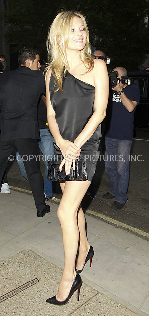 "WWW.ACEPIXS.COM . . . . .  ..... . . . . US SALES ONLY . . . . .....Kate Moss at the private view for ""Mario Testino: Kate Who?"" on July 5 2010 in London....Please byline: FAMOUS-ACE PICTURES... . . . .  ....Ace Pictures, Inc:  ..tel: (212) 243 8787 or (646) 769 0430..e-mail: info@acepixs.com..web: http://www.acepixs.com"