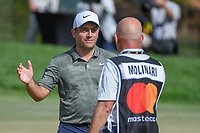 Francesco Molinari (ITA) celebrates his birdie putt for the win on 18 during round 4 of the Arnold Palmer Invitational at Bay Hill Golf Club, Bay Hill, Florida. 3/10/2019.<br /> Picture: Golffile | Ken Murray<br /> <br /> <br /> All photo usage must carry mandatory copyright credit (© Golffile | Ken Murray)