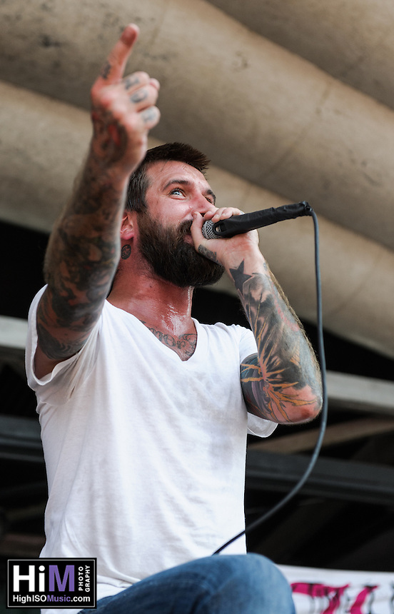 Every Time I Die performs at the Vans Warped Tour in Atlanta, GA on July 26, 2012.  Copyright © 2012 by HIGH ISO Music, LLC.